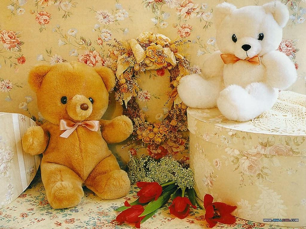 Sweet cute teddy bear wallpapers - photo#12