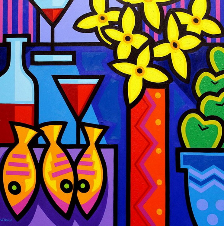 Im genes arte pinturas cocina 12 cuadros modernos de - Pinturas de pared modernas ...