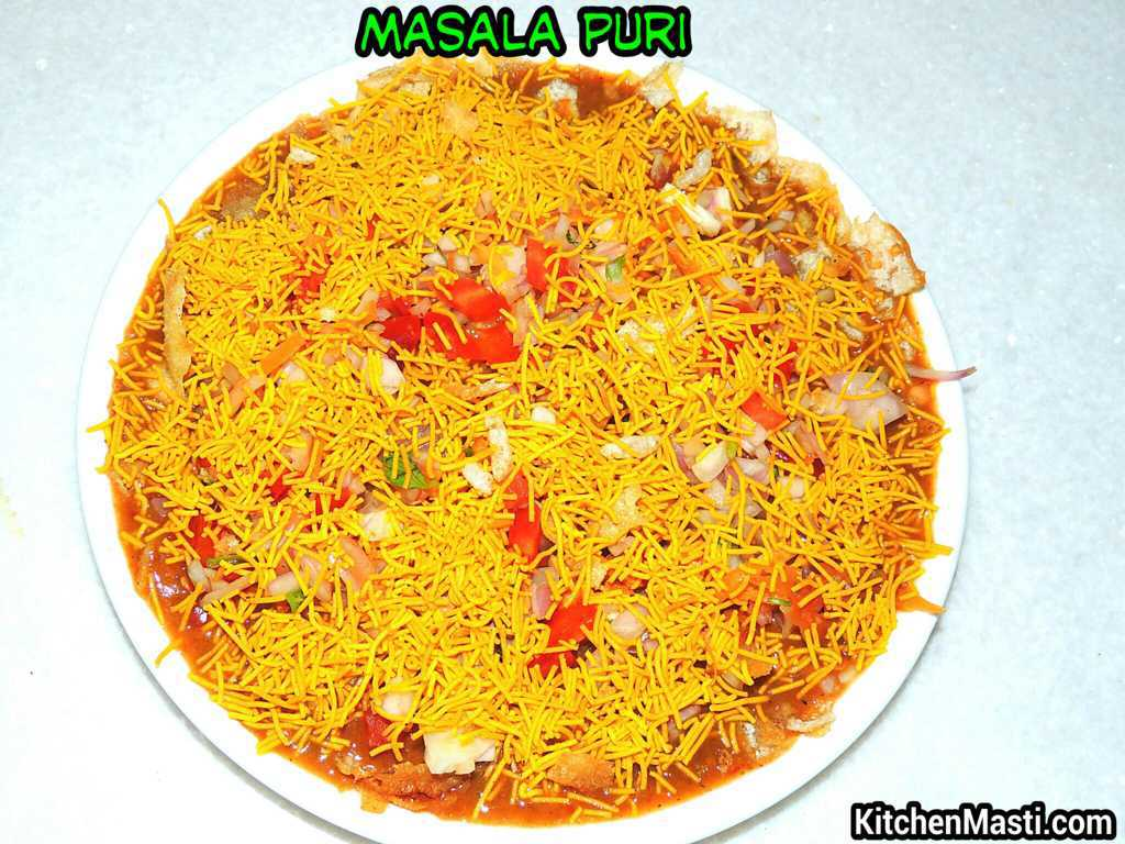 masala puri recipe