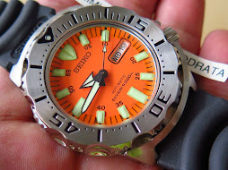 SEIKO DIVER ORANGE MONSTER - RUBBER STRAP - SEIKO SKX781 - AUTOMATIC 7S26 - NEW OLD STOCK(NOS)