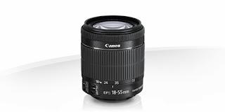 Lensa Kamera Canon EF-S 18-55mm f/3.5-5.6 IS STM