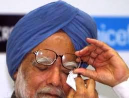 Manmohan Singh crying on his retirement talks