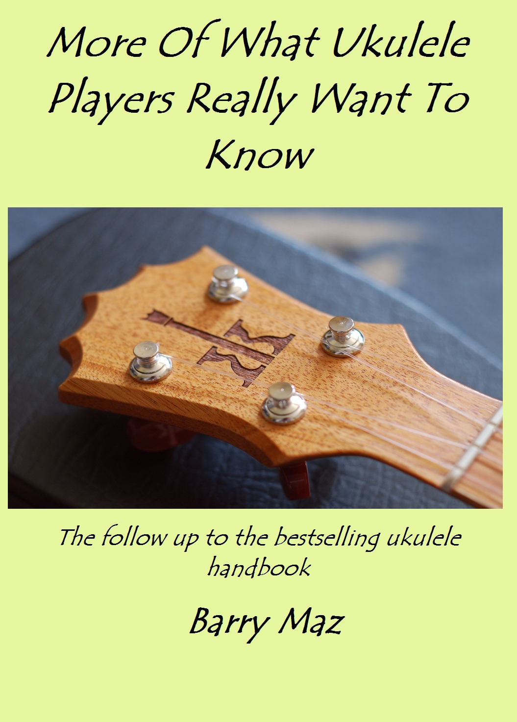 My new ukulele book - in various formats
