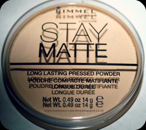 Drugstore Hair & Make Up Haul // Rimmel Stay Matte Pressed Powder // www.lukeosaurusandme.blogspot.co.uk