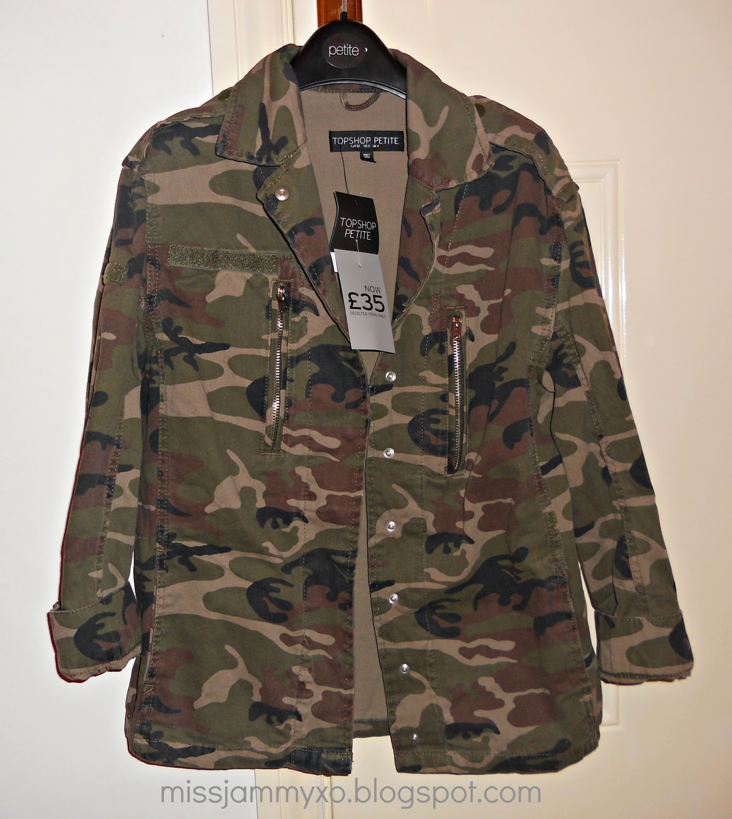 Camouflage jacke damen primark