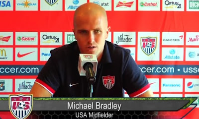 Michael Bradley discusses upcoming match against Guatemala.