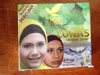 Lunas Herbal Soap