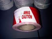 "Caution ""AWAS"" Liner"