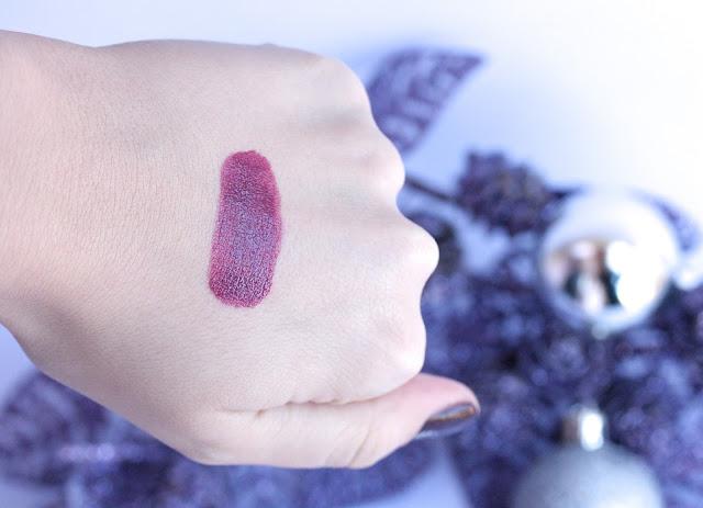 Rimmel Moisture Reniew Lipstick in Slone's Plum Swatches