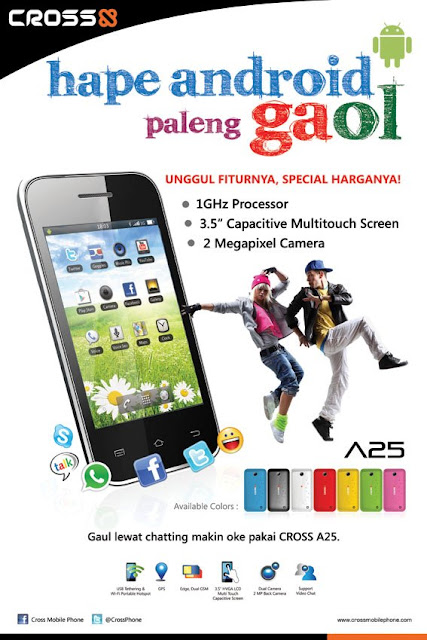 Cross A25 Hape Android 500ribuan
