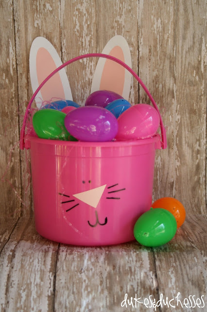 Dukes and Duchesses: How to Make an Easter Basket {plus a Bunny Buffet}