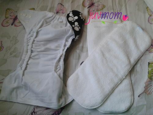 Inovasi Terkini Cloth Diaper :  Insert Long Bamboo 3 Folded