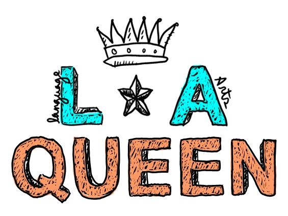 Language Arts Clipart La (language arts) queen by