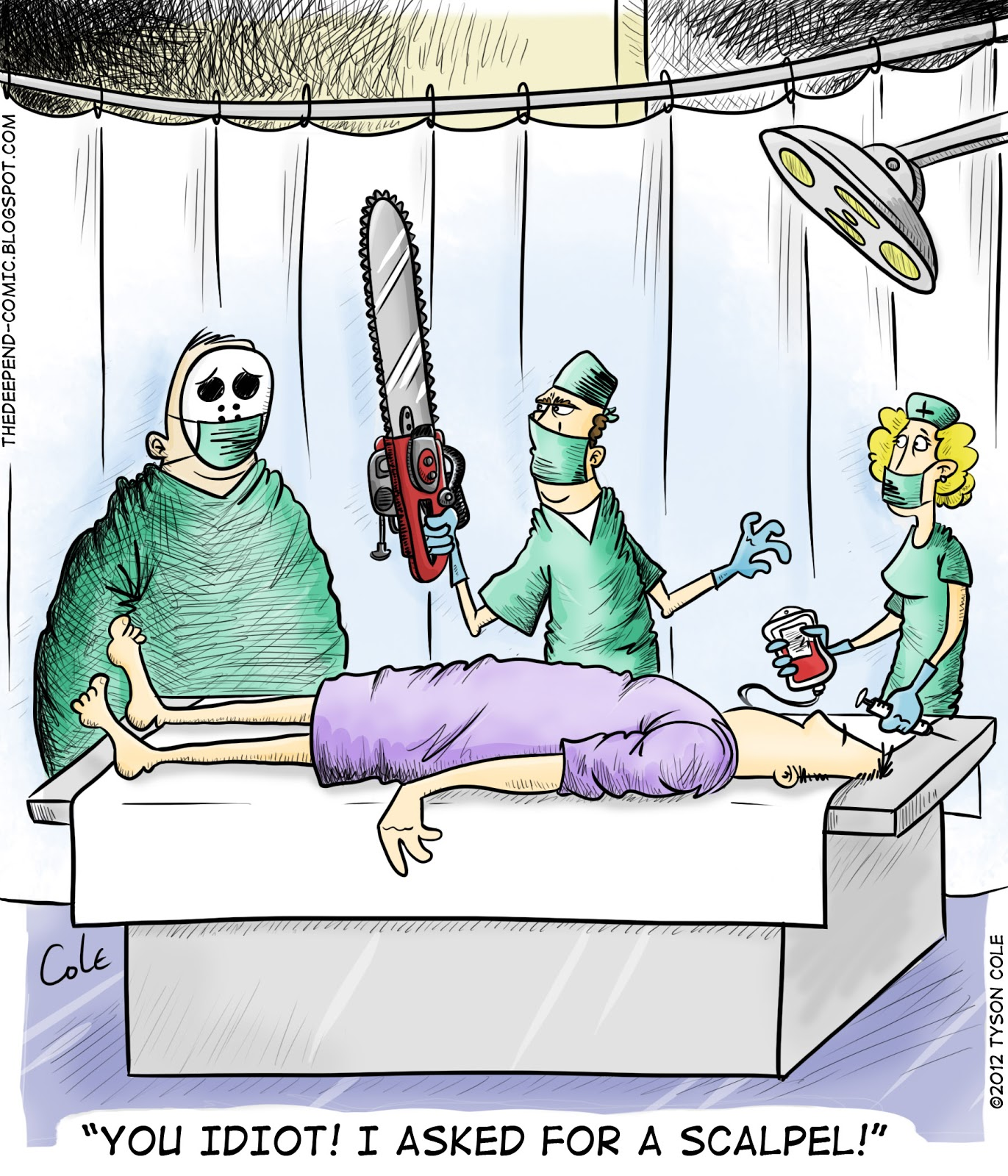 Surgical cartoons surgical cartoon funny surgical picture surgical - Killer Surgery