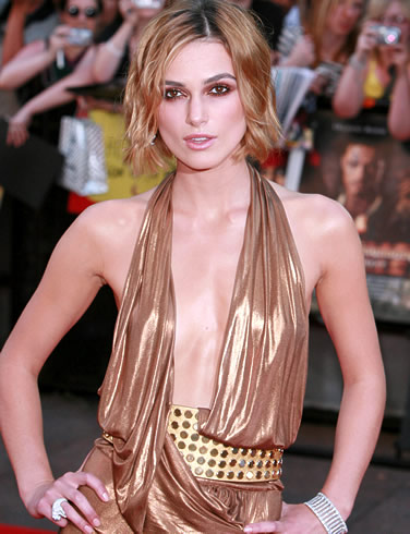 Keira Knightley on red carpet