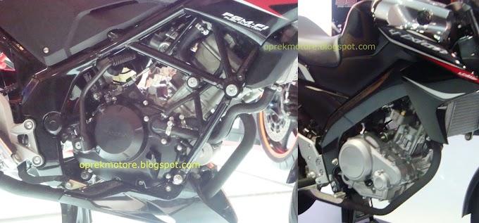 Komparasi Mesin Honda CB150R Vs Yamaha New V-ixion