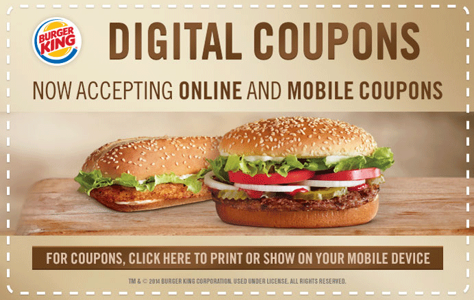 Save with 8 Burger King coupons and sales for December, Today's top offer: 5% Off. Coupon Sherpa, #1 in coupons.