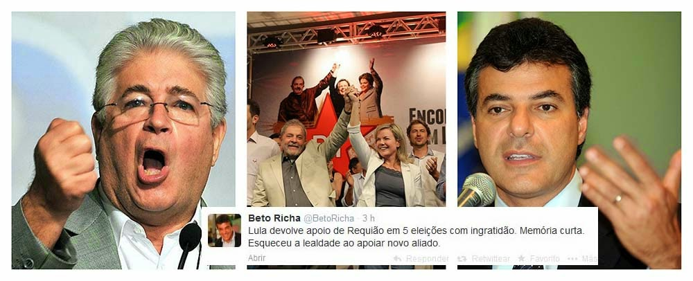 REQUIÃO , DEI UMA SAPECADA EM PAU MANDADO DE BETO RICHA