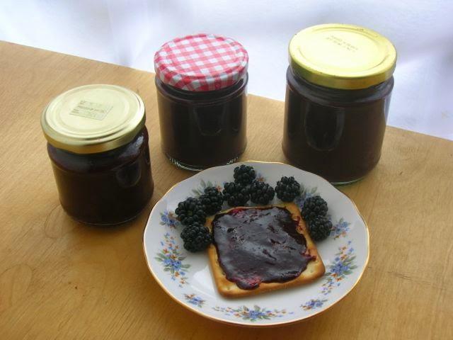Chocolate Blackberry Jam
