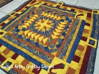 southwestern quilt wall hanging