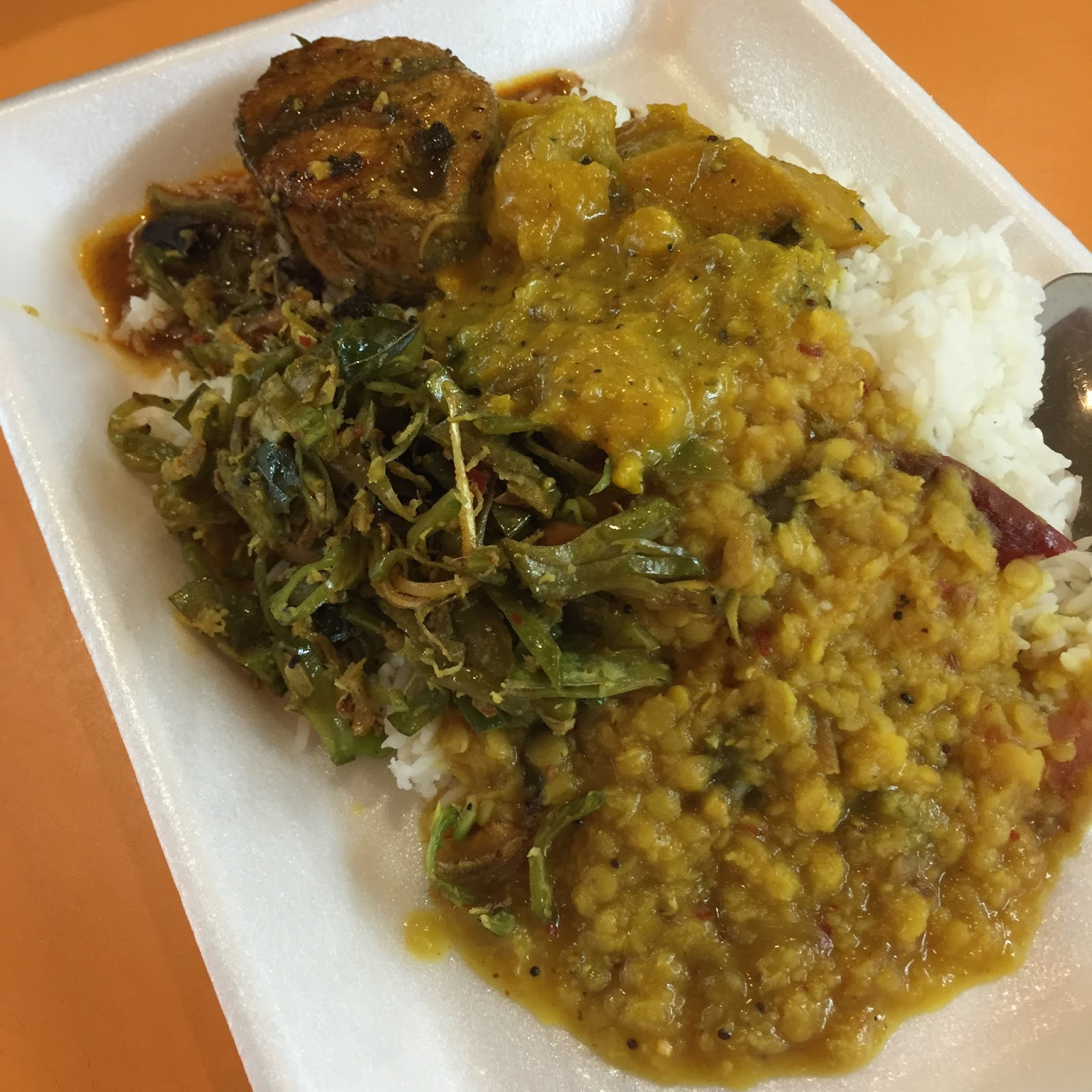 Expat kiwis authentic sri lankan cuisine at tekka market for Authentic sri lankan cuisine