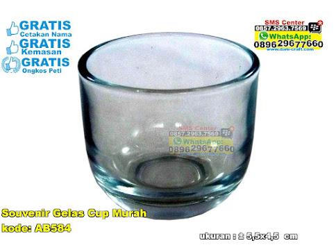 Souvenir Gelas Cup Murah unik