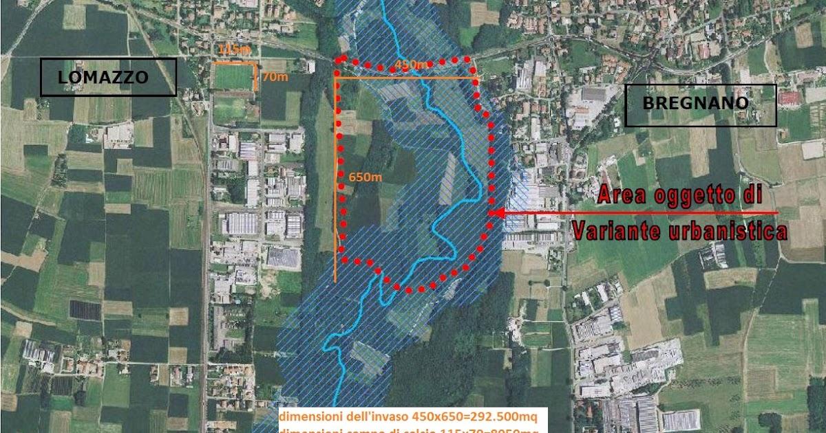 Sinistra e ambiente lomazzo e valle del lura il progetto for Meda provincia di