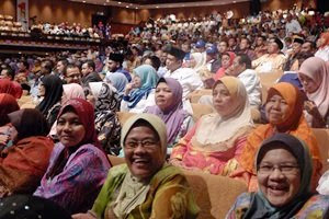 Himpunan Barisan 1Malaysia - di Pusat Dagangan Dunia Putra (PWTC)