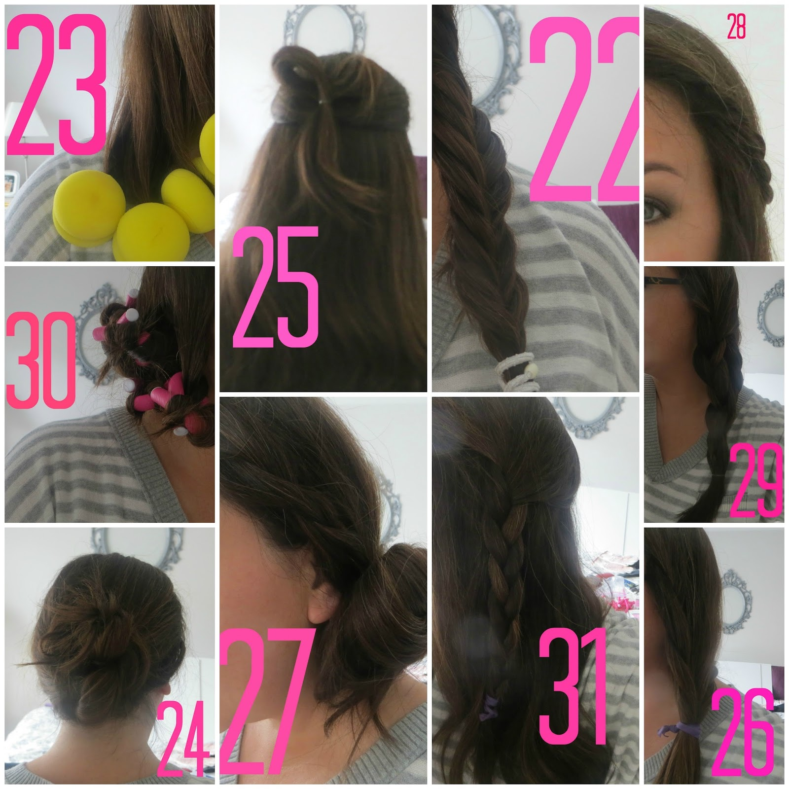 Elle Sees Beauty Blogger In Atlanta A Month Of No Heat Hairstyles