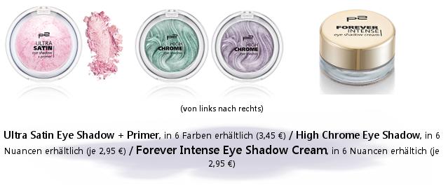 p2 Sortimentsumstellung Frühjahr/ Sommer 2014 - Dekorative Kosmetik