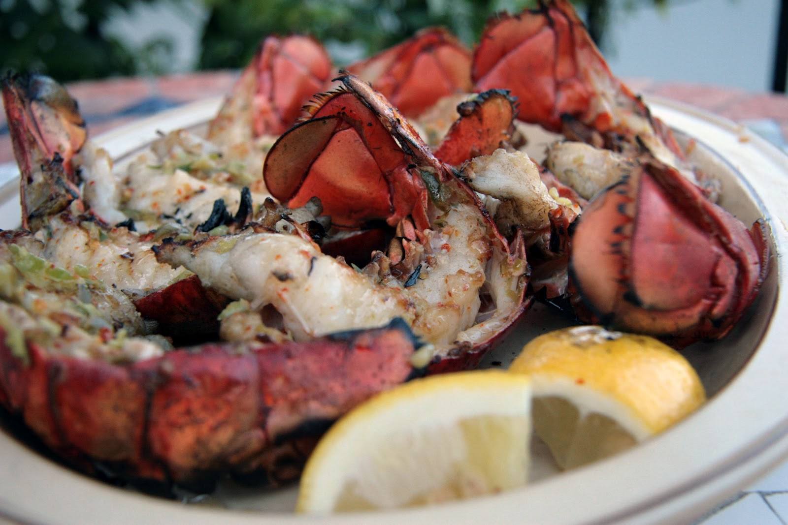 how to cook rock lobster tails on grill