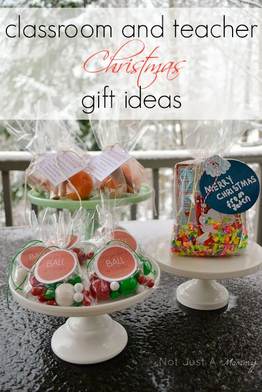 classroom and teacher Christmas gift ideas