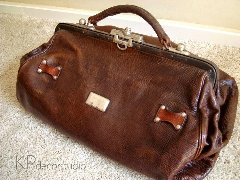 Comprar maletín médico restaurado para decoración