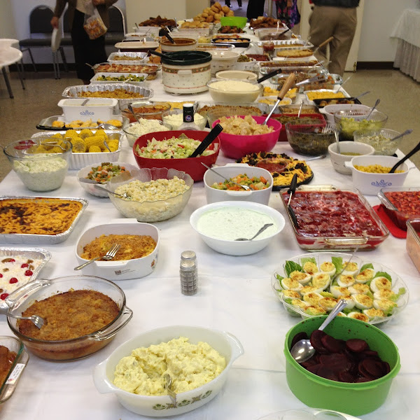 November 1: Annual Pot Luck Dinner