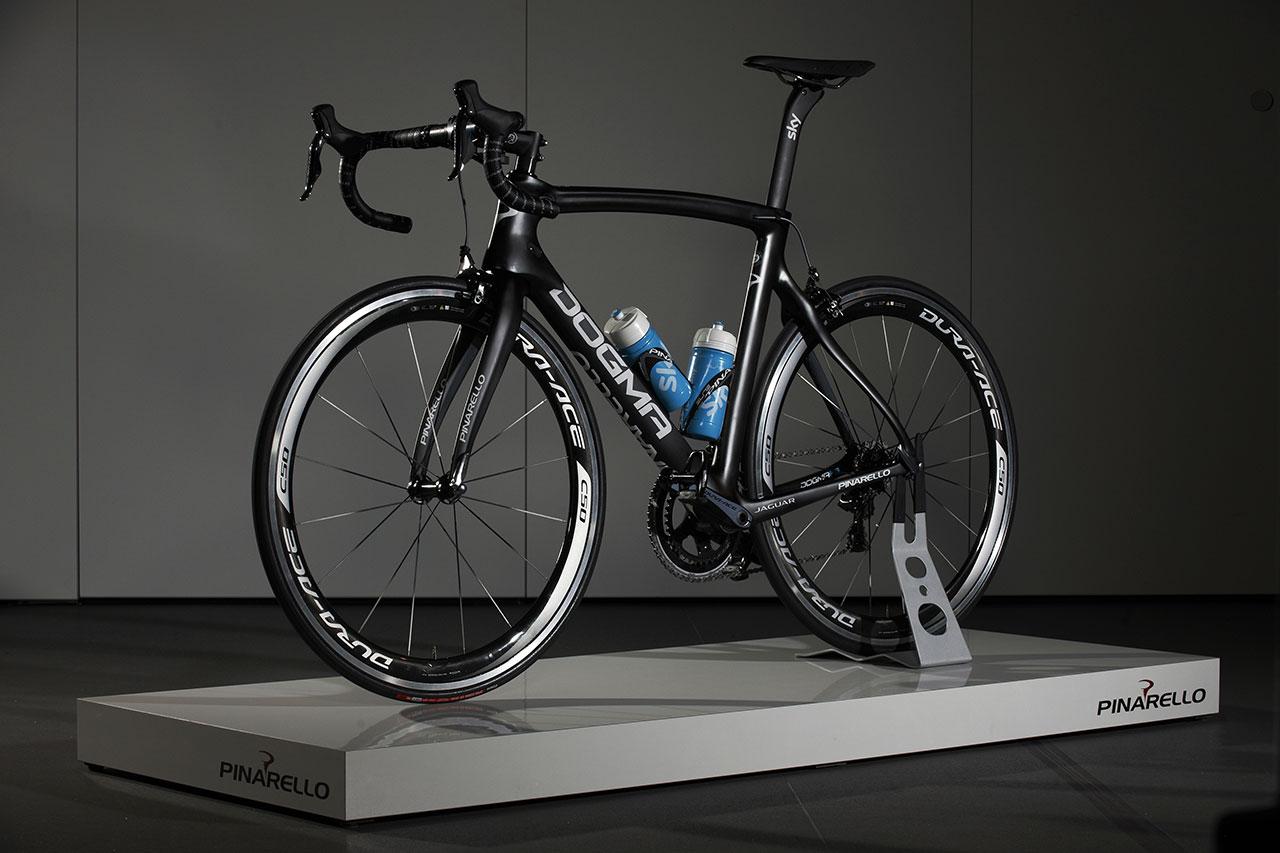 Jaguar, Team Sky and Pinarello - Tour de France racing bike side front