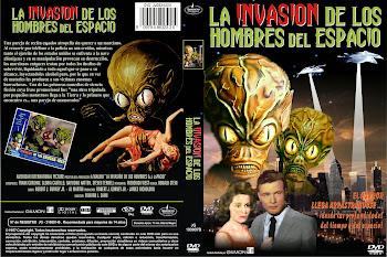 Carátula dvd: La invasión de los hombres del espacio (1957) (Invasion of the Saucer-Men)