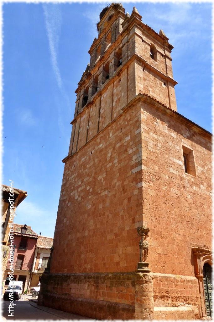 Espadaña iglesia Sta Maria la Mayor, Ayllón