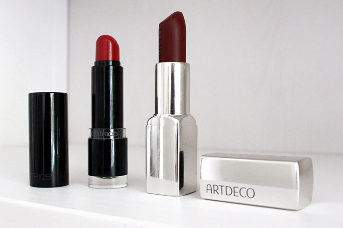 Beauty fashion blog favorite red lipstick collection catrice artdeco