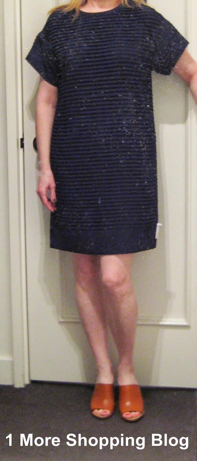 pleated chiffon tshirt dress similar here here here marlow mules similar here here here