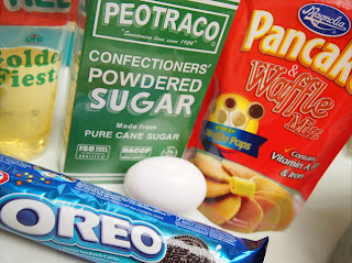 Deep Fried Oreo - Ingredients