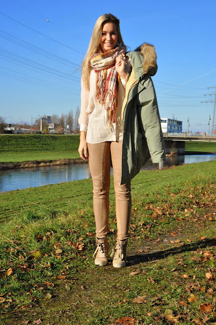 Wintertrend, Winter Outfit, Look, Nude