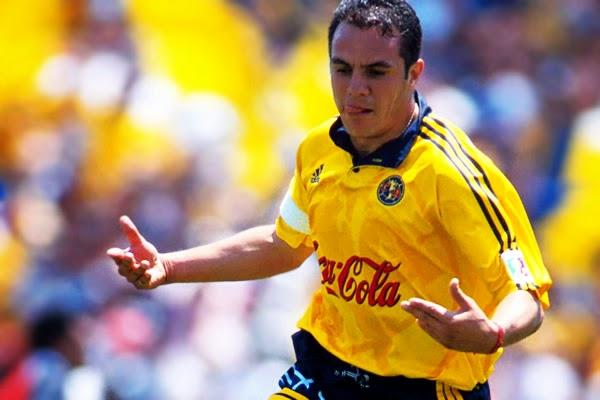Cuauhtémoc Blanco, jugador y héroe del América y de la Selección Nacional Mexicana | Ximinia