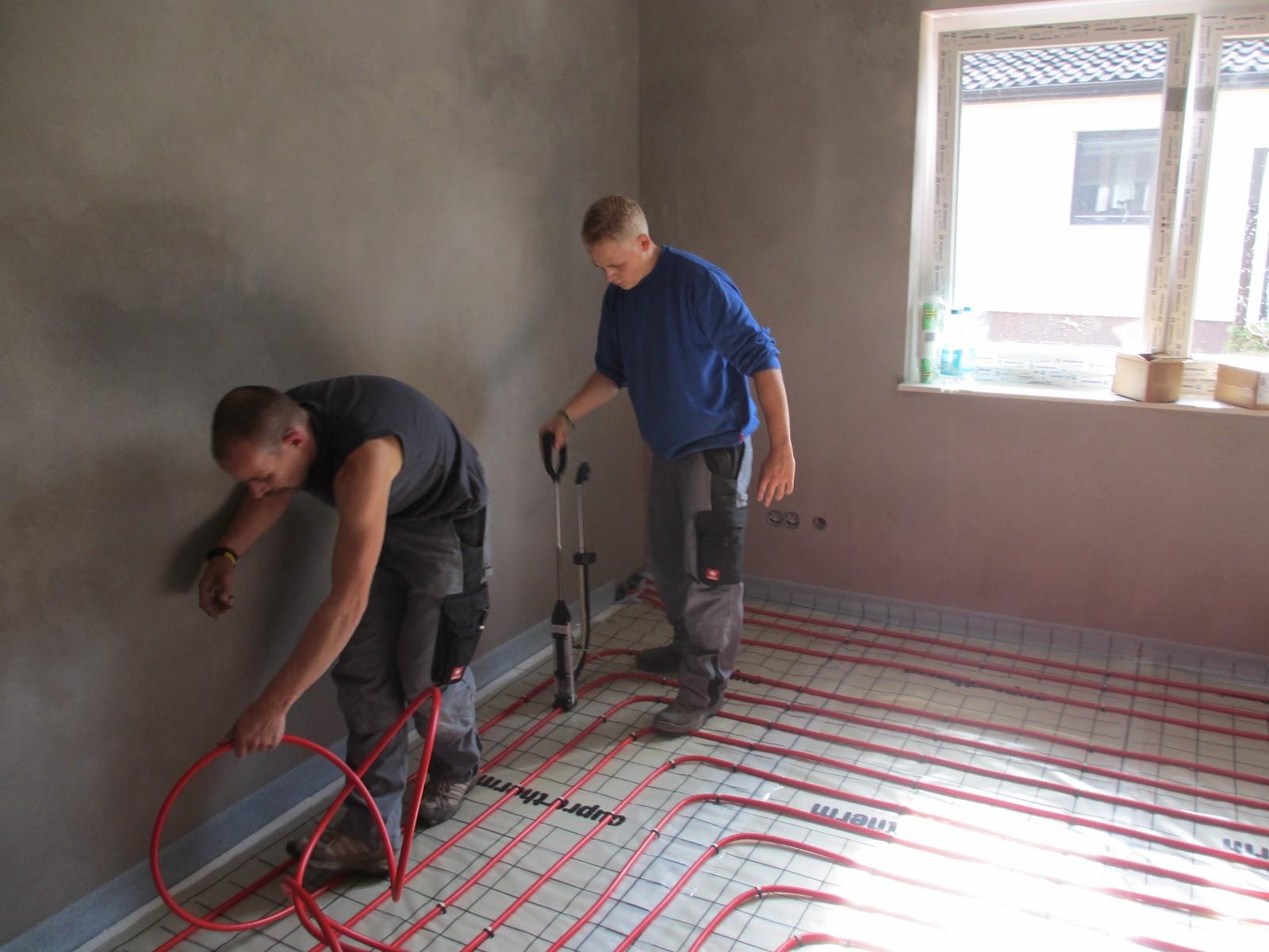 Fußboden Mit Dämmung ~ Fußbodenheizung sorgfältig verlegt die alten bauen ihren ruhesitz