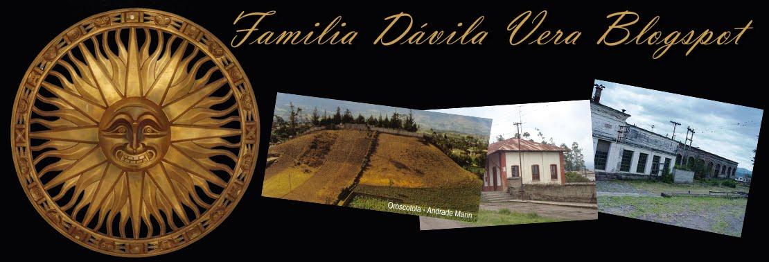 FAMILIA DAVILA VERA