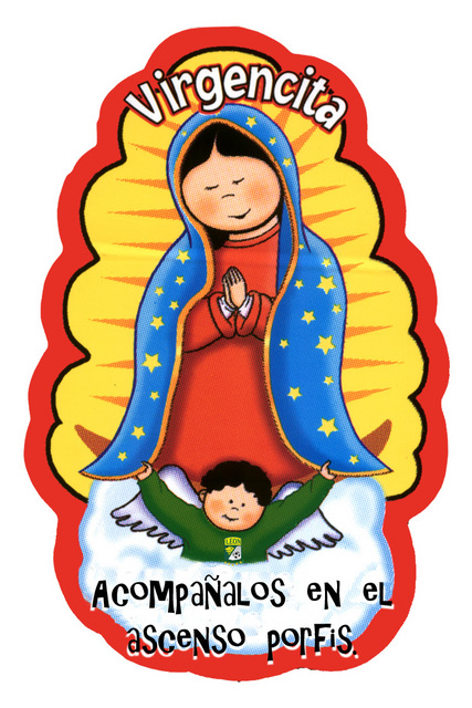 Virgen De Guadalupe En Caricatura