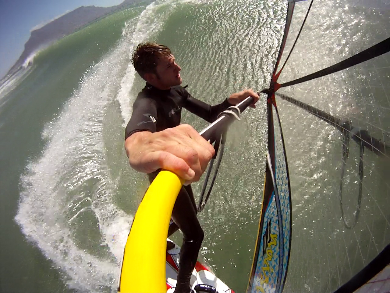 Maxim 39 S Windsurf Sessions First Sessions In Cape Town