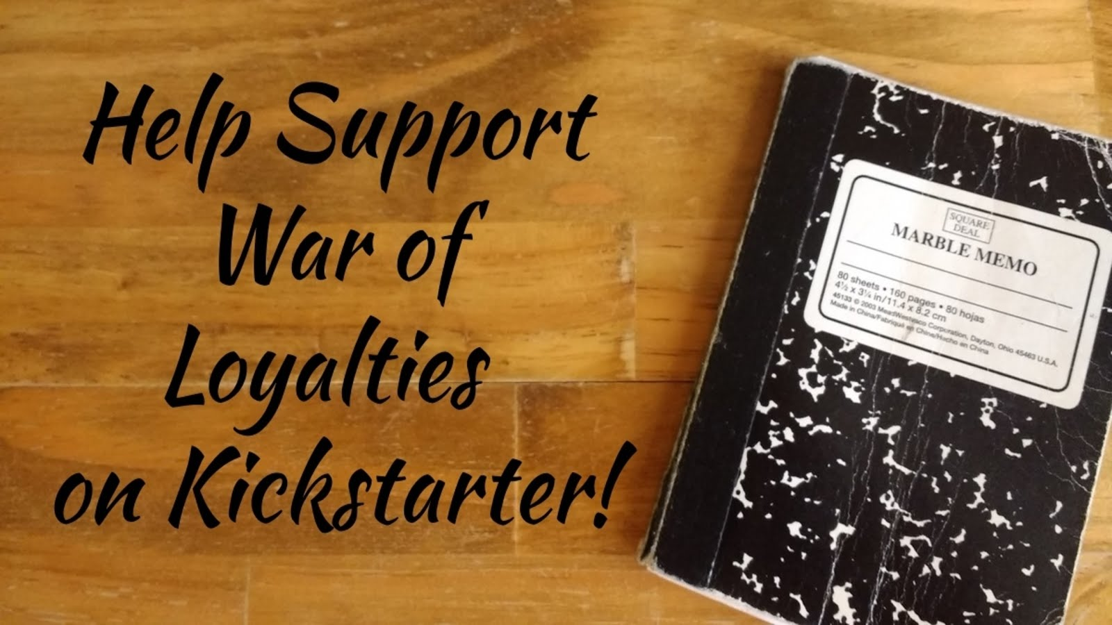 Help War of Loyalties Get Published!