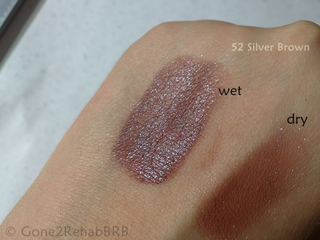 dazzle dust silver brown 52 swatch