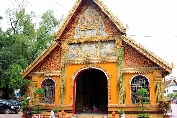 Wat Si Muang à Vientiane (Laos)