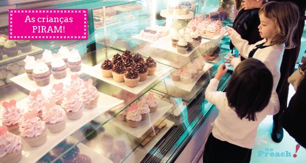 Tour pela Loja da Barbie em Buenos Aires - cupcakes decorados
